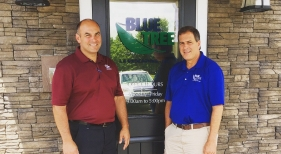Blue Tree Landscaping Store Front