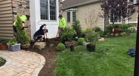 Staff Members Landscaping