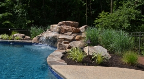 Custom-Freeform-Pool-with-Rock-Waterfall