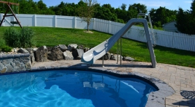Custom-Pool-with-slide