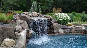 Rock Waterfall