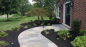 Front-Entryway-Landscape-and-Hardscape Royersford