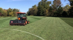 Resized Turf at soccer field