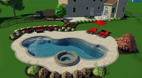 Back Yard Pool Design