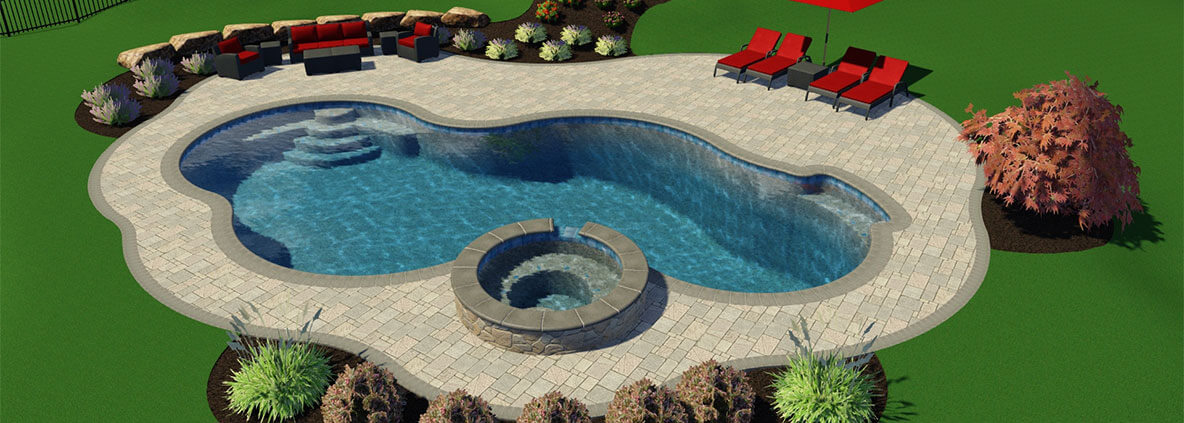 Design Photos Montgomery County | Swimming Pool Builder Skippack